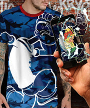 Popeye™ Shark Camo Augmented Reality T-Shirt