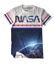 NASA™ Earth From Above White Augmented Reality T-Shirt