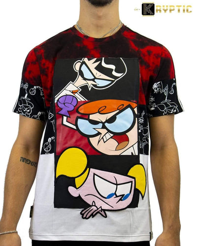 deKryptic x Dexter's Laboratory™ -  Genius Grove Augmented Reality T-Shirt
