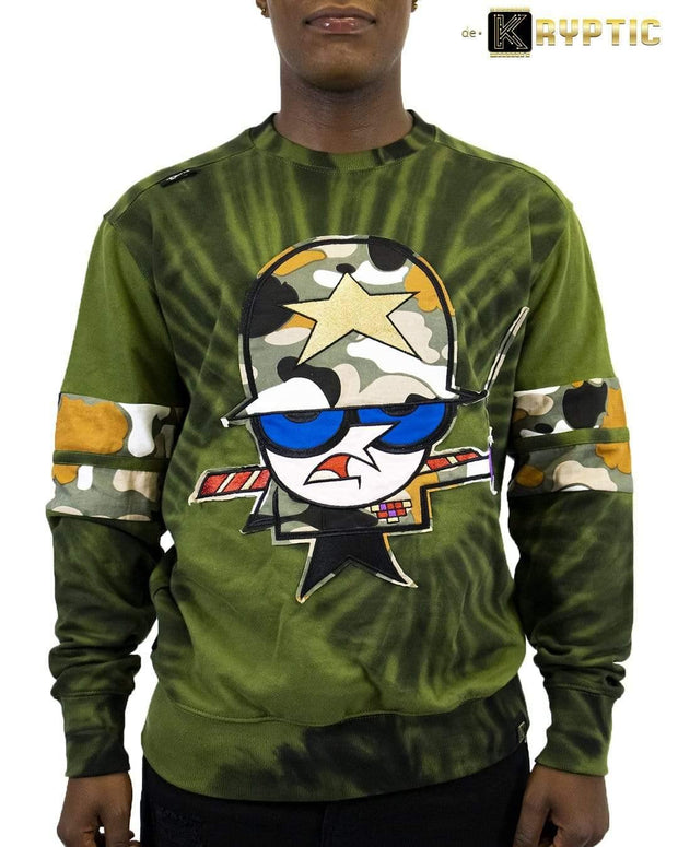 deKryptic x Dexter's Laboratory™ - The General Augmented Reality Crew Neck