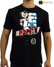 deKryptic x POPEYE -  Popeye® Arcade Game Augmented Reality T-Shirt