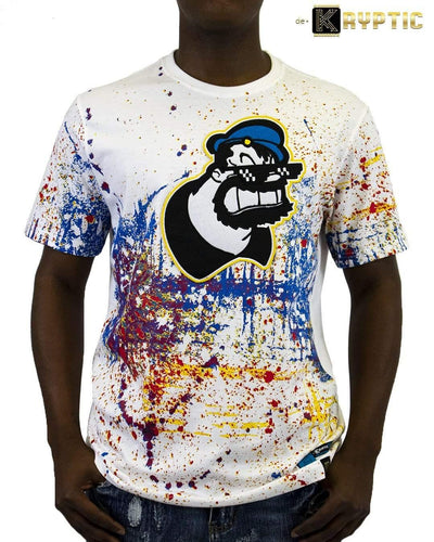 deKryptic x POPEYE -  Thug Life Brutus Augmented Reality T-Shirt