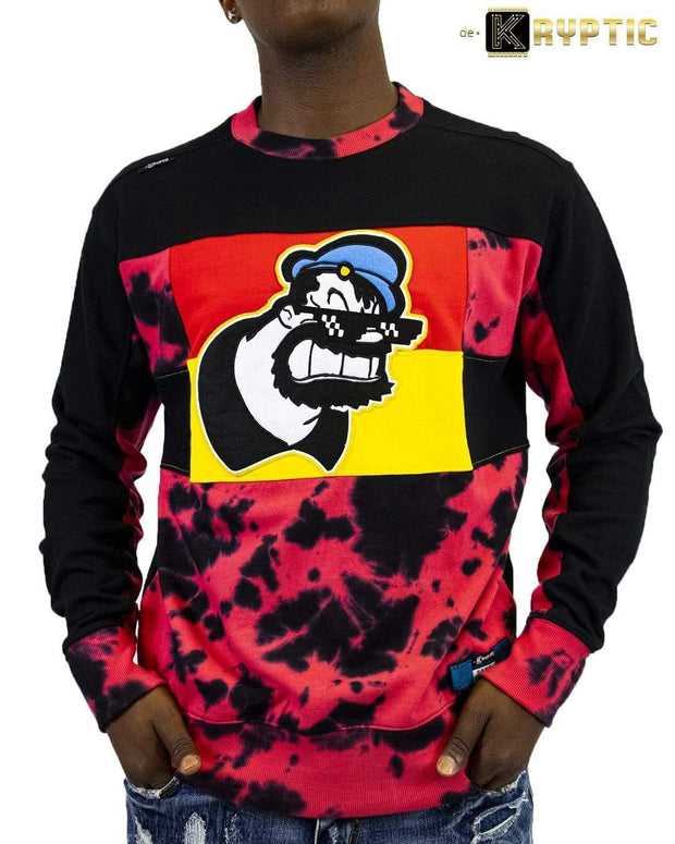 deKryptic x POPEYE -  Thug Life Brutus Augmented Reality Crew Neck