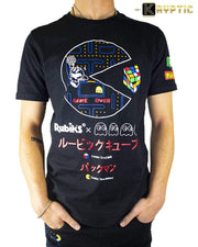 deKryptic x Rubik's x Pac-Man - Pac-Man Augmented Reality T-Shirt