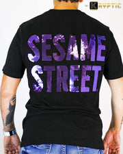 deKryptic x Sesame Street® - The Count Sequined T-Shirt