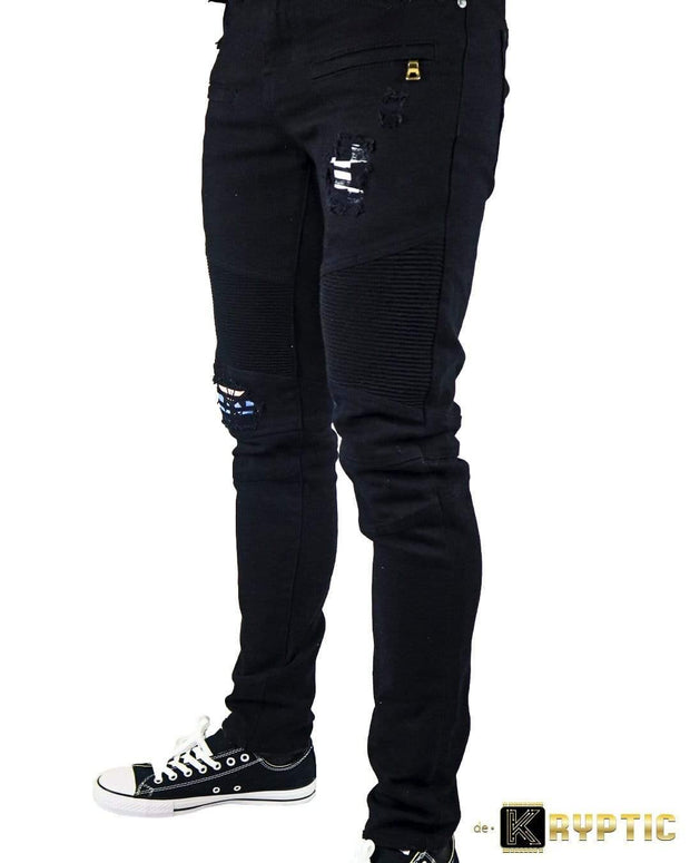 deKryptic x Dexter's Laboratory™ - Boy Genius Augmented Reality Denim Jeans - de•Kryptic