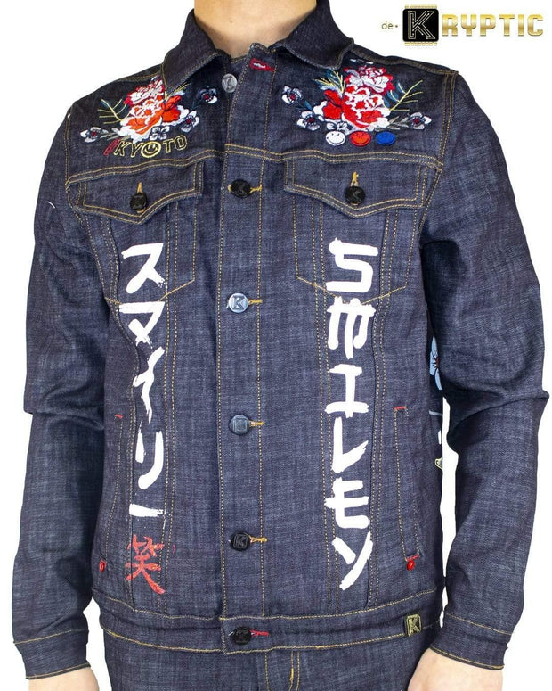 deKryptic x Smiley - Japan Augmented Reality Denim Jacket