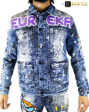 deKryptic x Dexter's Laboratory™ - EUREKA Augmented Reality Denim Jacket