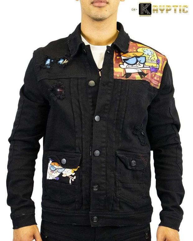 deKryptic x Dexter's Laboratory™ - Boy Genius Augmented Reality Denim Jacket