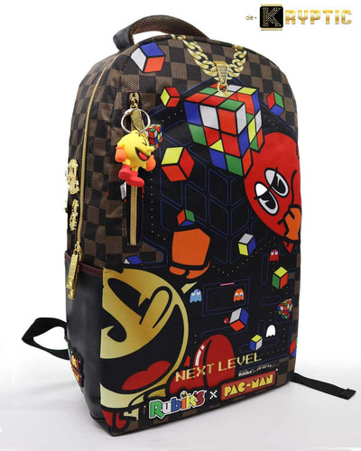 deKryptic x Rubik's x Pac-Man - Couture Augmented Reality Backpack - de•Kryptic