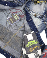 deKryptic x Dexter's Laboratory™ - Blaster Indigo Denim Jacket