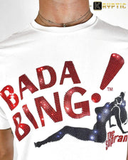 deKryptic x HBO® - The Sopranos - BADA BING - White Premium T-Shirt - de•Kryptic