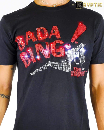 deKryptic x HBO® - The Sopranos - BADA BING - Black Premium T-Shirt