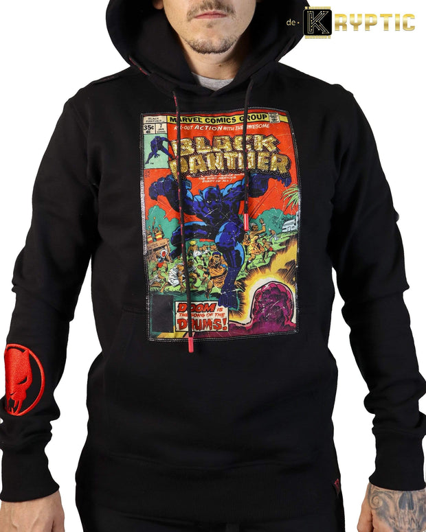 deKryptic x Marvel© x Black Panther - Black Panther (1977) #7 - Black Hoodie