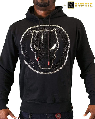 deKryptic x Marvel© x Black Panther - Guardian - Black Hoodie - de•Kryptic