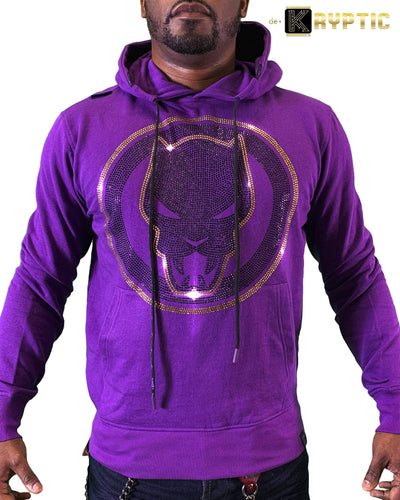 deKryptic x Marvel© x Black Panther - Guardian - Purple Hoodie - de•Kryptic