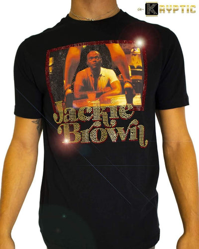 deKryptic x Miramax® - Jackie Brown - Ordell - Black Premium T-Shirt - de•Kryptic