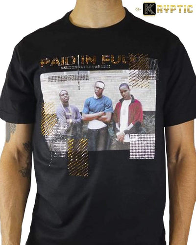 deKryptic x Miramax® - Paid In Full - The Survivor - Black Premium T-Shirt - de•Kryptic