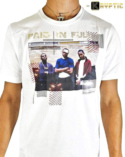 deKryptic x Miramax® - Paid In Full - The Survivor - White Premium T-Shirt