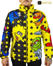 deKryptic x Sesame Street® - Big Bird Bubble Jacket - de•Kryptic