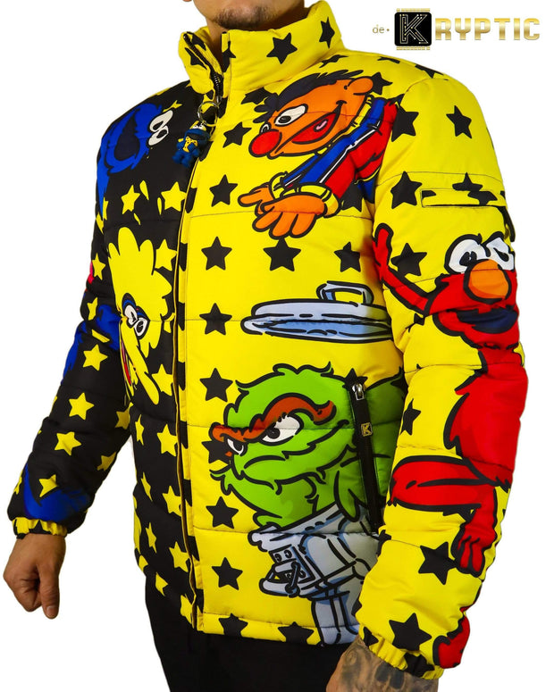 deKryptic x Sesame Street® - Big Bird Bubble Jacket