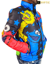 deKryptic x Sesame Street® - Cookie Monster Bubble Jacket
