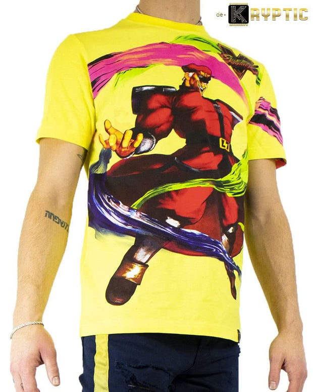 deKryptic x Street Fighter® -  Bison Augmented Reality T-Shirt