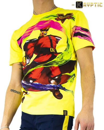 deKryptic x Street Fighter® -  Bison Augmented Reality T-Shirt - de•Kryptic