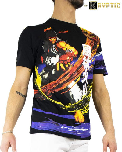deKryptic x Street Fighter® -  Ryu Augmented Reality T-Shirt - de•Kryptic