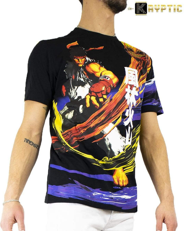 deKryptic x Street Fighter® -  Ryu Augmented Reality T-Shirt