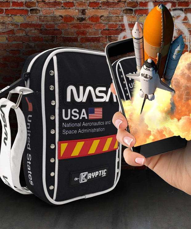 NASA™ Space Shuttle Augmented Reality Crossbody Bag