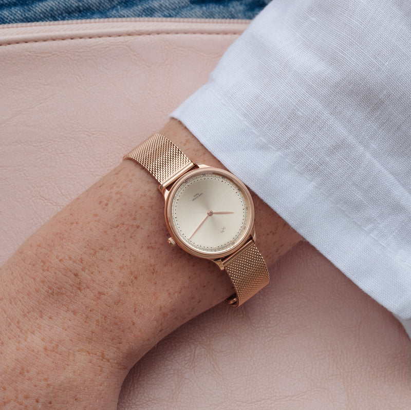 1969 Petite, Rose Gold / Rose Gold Sunray