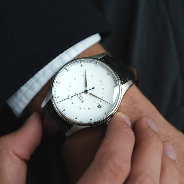 1820 Automatic, Steel / White