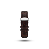 Butterfly Clasp - Brown Croco