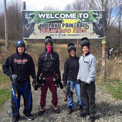 Open Play Paintball Pass