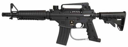 US Army Alpha Black Elite Paintball Marker