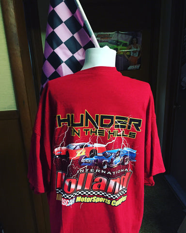 Limited Edition NASCAR Thunder in the Hills T-Shirt