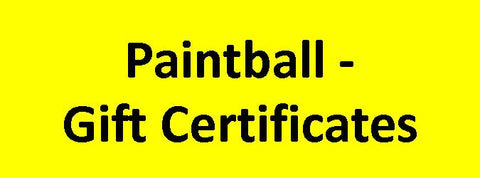 Paintball Park - Gift Certificate