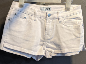 Side Split Denim Shorts