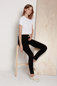 Sculpt jeans in sleek black