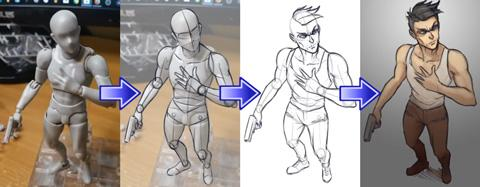 From Drawing Figures, Drawing Manga to Character Drawing and Illustration.
