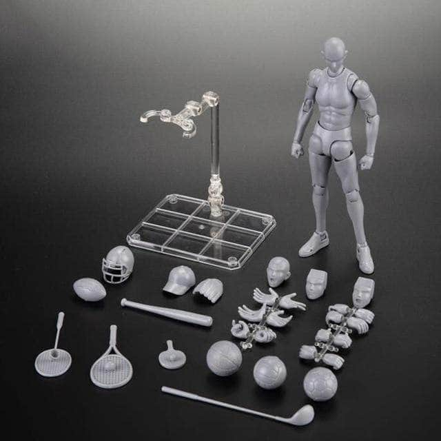 Body Kun Dolls figures Male Grey Sports Body Kun Sports Figure Edition