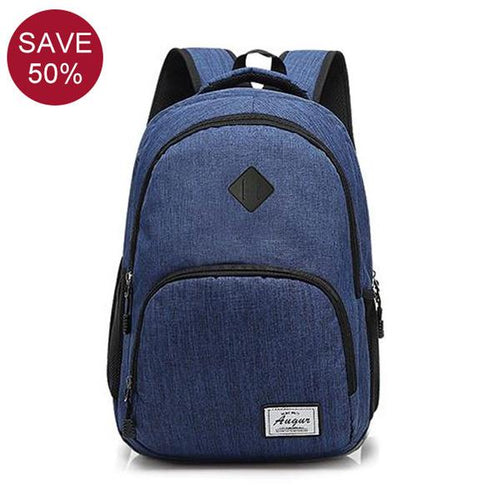 USB Charging Anti Theft Travel Backpack  (15.6 inch)