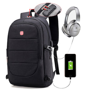 15.6 Inch Laptop Anti-theft Men Backpack