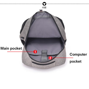 Anti Theft Travel Backpack Waterproof 15 inch