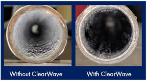 clear wave hard water scale treatment