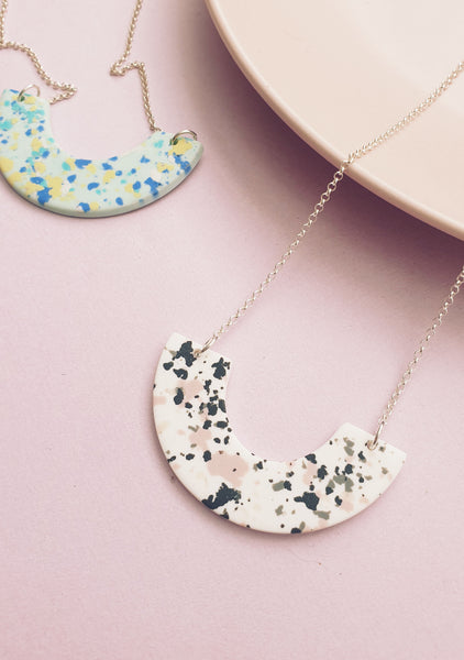 Granite Arc Necklace