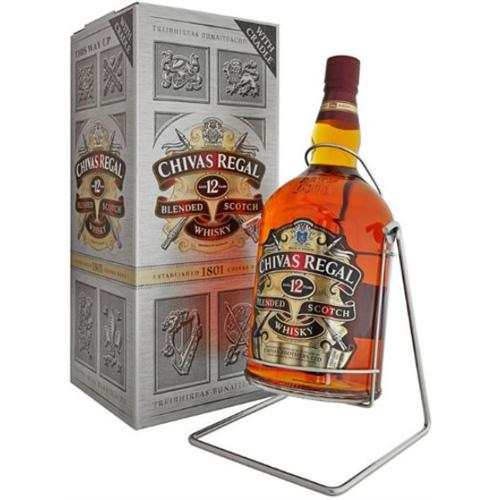 Chivas Regal 12 Years + Craddle 40° 4.5L