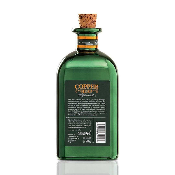 Copperhead Gin - The Gibson Edition 40° 50Cl - Ginsonline - Gin