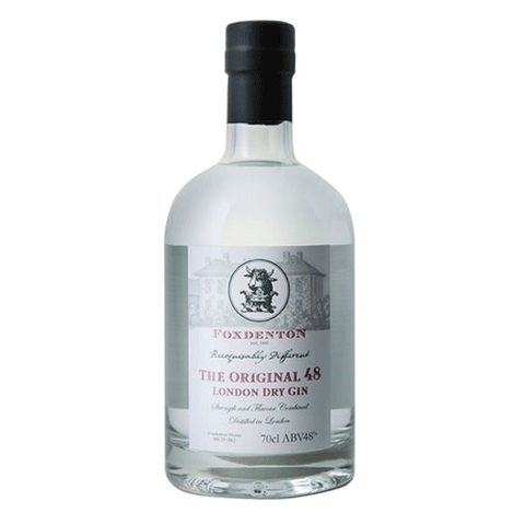 Foxdenton 48 London Dry Gin 48° 70 Cl - Ginsonline - Gin